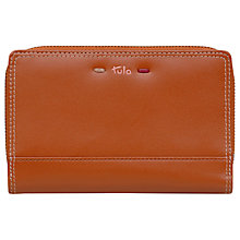 Buy Tula Violet Large Leather Zip Around Purse Online at johnlewis.com