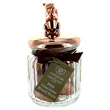 Buy Artisan du Chocolat Milk Chocolate Brazil Nuts Squirrel Jar, 160g Online at johnlewis.com
