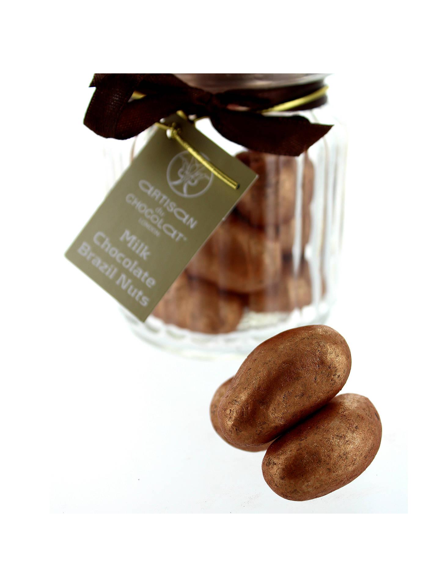 Artisan Du Chocolat Milk Chocolate Brazil Nuts Squirrel Jar