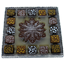 Buy Artisan du Chocolat Assorted Snowflake Chocolate and Truffles Box, 190g Online at johnlewis.com