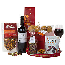 Buy John Lewis Red Wine and Nibbles Gift Box Online at johnlewis.com