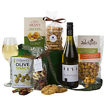 Buy John Lewis White Wine and Nibbles Gift Box Online at johnlewis.com