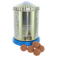 Buy Artisan du Chocolat Salted Caramel Chocolate Truffles Musical Tin, 200g Online at johnlewis.com