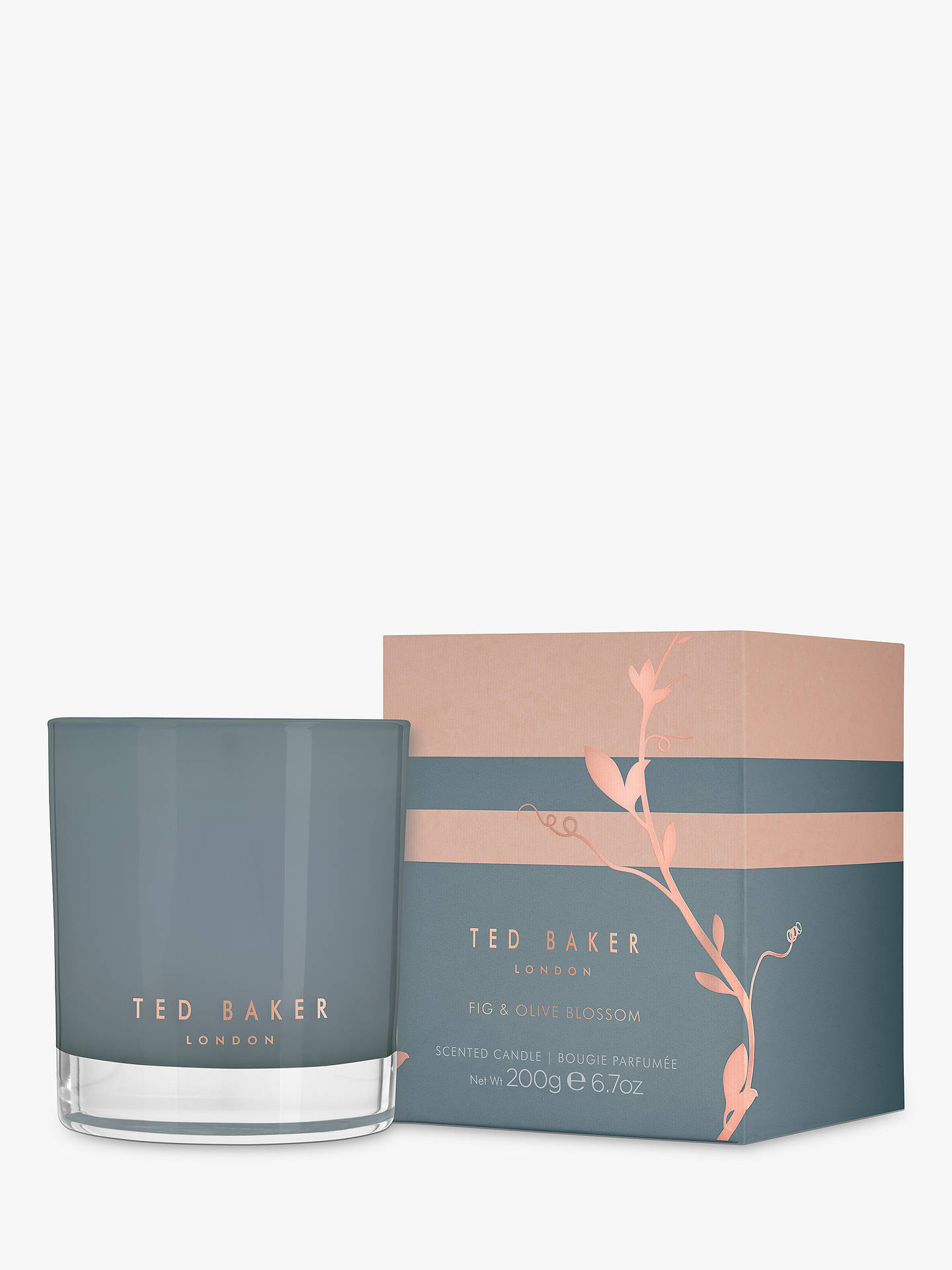 BuyTed Baker Candle Fig & Olive Blossom Scented Candle Online at johnlewis.com