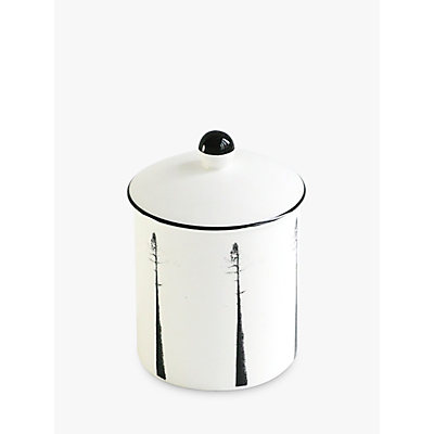 Clavering Stapleford Lidded Jar, White