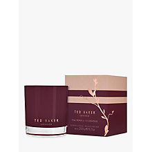 Buy Ted Baker Pink Pepper & Cedarwood Candle Online at johnlewis.com
