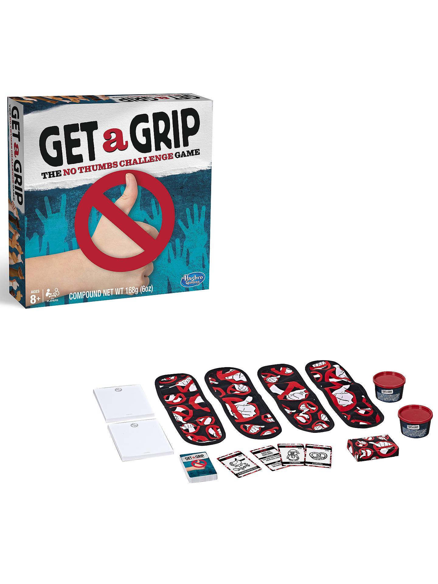 Hasbro Get A Grip Game at John Lewis & Partners
