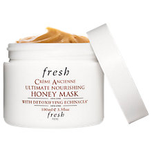 Buy Fresh Crème Ancienne Ultimate Nourishing Honey Mask, 100ml Online at johnlewis.com