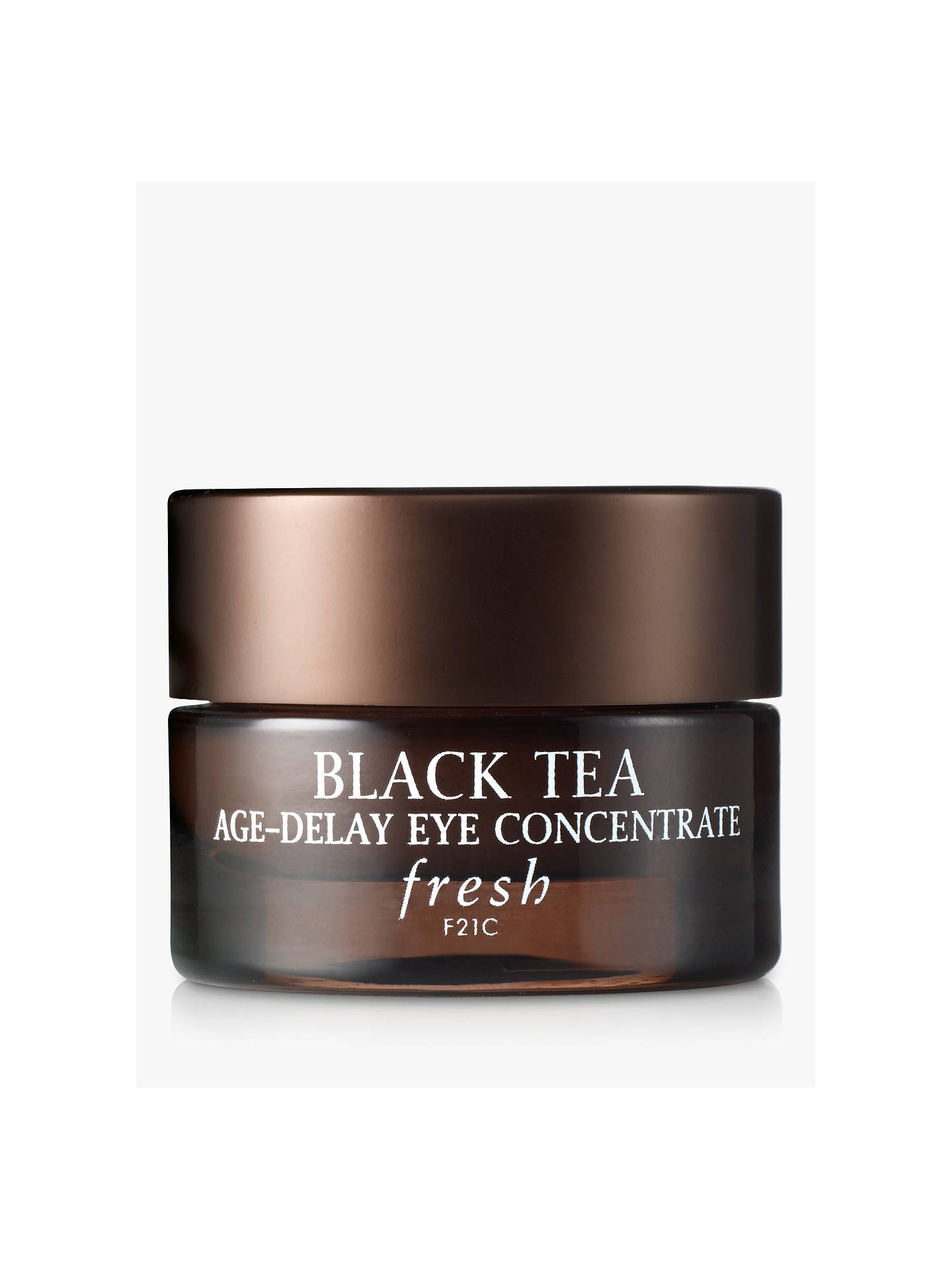 Fresh Black Tea Age Delay Eye Concentrate Cream 15ml At John Lewis Partners
