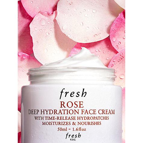 ผลการค้นหารูปภาพสำหรับ Fresh Rose Deep Hydration Face Cream