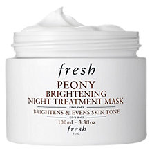 Buy Fresh Peony Brightening Night Treatment Mask, 100ml Online at johnlewis.com