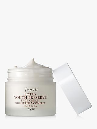 Fresh Lotus Youth Preserve Face Cream with Super 7 Complex, 50ml