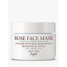 Buy Fresh Rose Face Mask To Go, 30ml Online at johnlewis.com