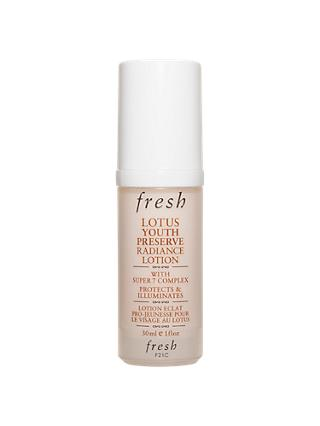 Fresh Lotus Youth Preserve Radiance Lotion with Super 7 Complex, 30ml