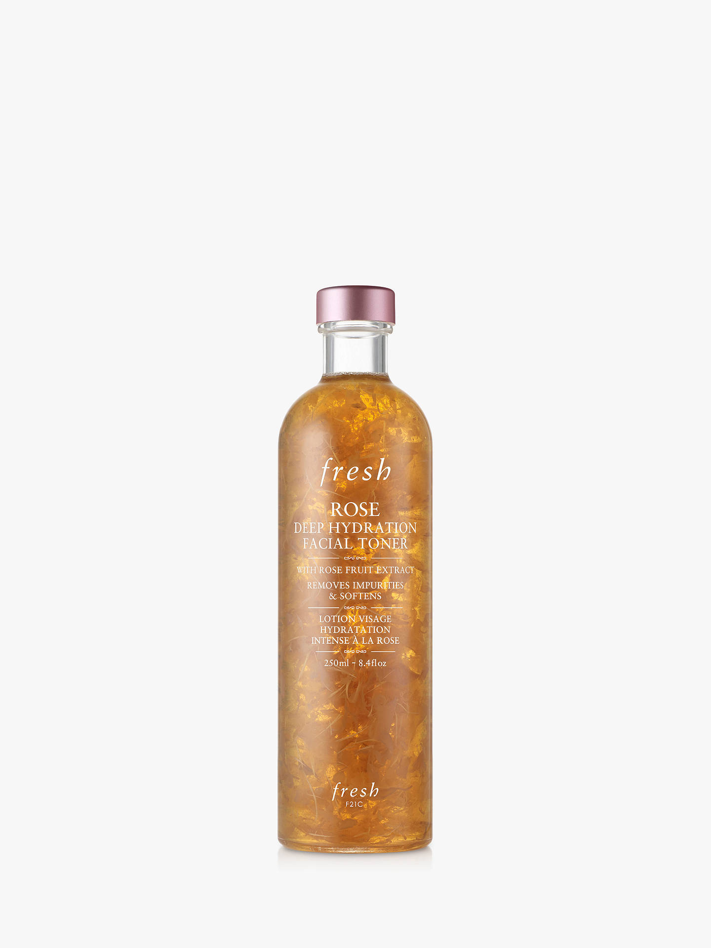 Buy Fresh Rose Deep Hydration Facial Toner, 250ml Online at johnlewis.com