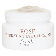 Buy Fresh Rose Hydrating Eye Gel Cream, 15ml Online at johnlewis.com
