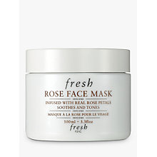 Buy Fresh Rose Face Mask, 100ml Online at johnlewis.com