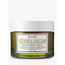 Buy Fresh Vitamin Nectar Vibrancy-Boosting Face Mask To Go, 30ml Online at johnlewis.com