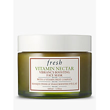 Buy Fresh Vitamin Nectar Vibrancy-Boosting Face Mask, 100ml Online at johnlewis.com
