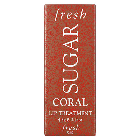 Buy Fresh Sugar Tinted Lip Treatment SPF 15, Coral Online at johnlewis.com