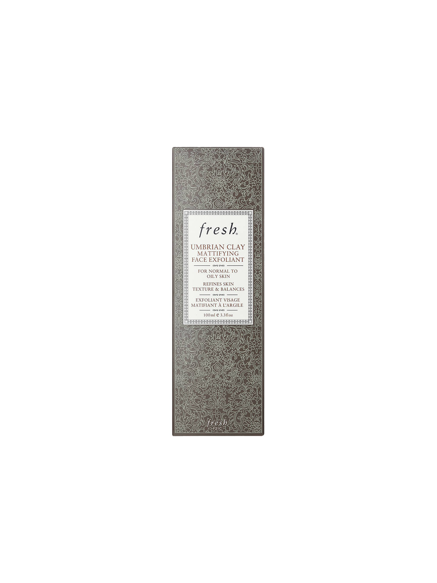 BuyFresh Umbrian Clay Mattifying Face Exfoliant, 100ml Online at johnlewis.com