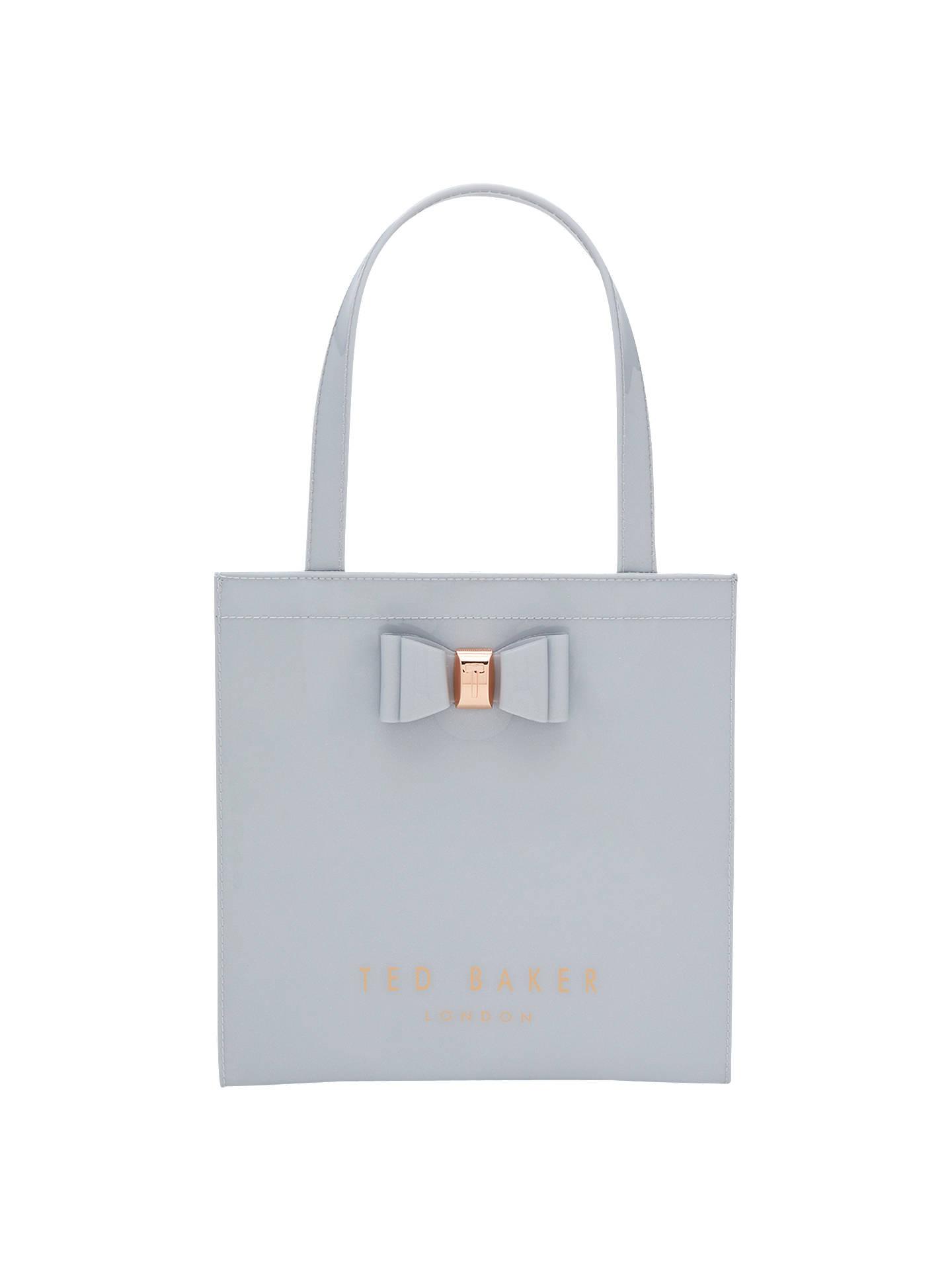 c1c52c871dabb2 Ted Baker Jenacon Bow Small Icon Shopper Bag at John Lewis   Partners