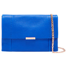 Buy Ted Baker Parson Leather Cross Body Bag Online at johnlewis.com