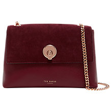 Buy Ted Baker Sophina Suede Circle Cross Body Bag Online at johnlewis.com