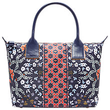 Buy Ted Baker Koda Kyoto Gardens Small Tote Bag, Mid Blue Online at johnlewis.com