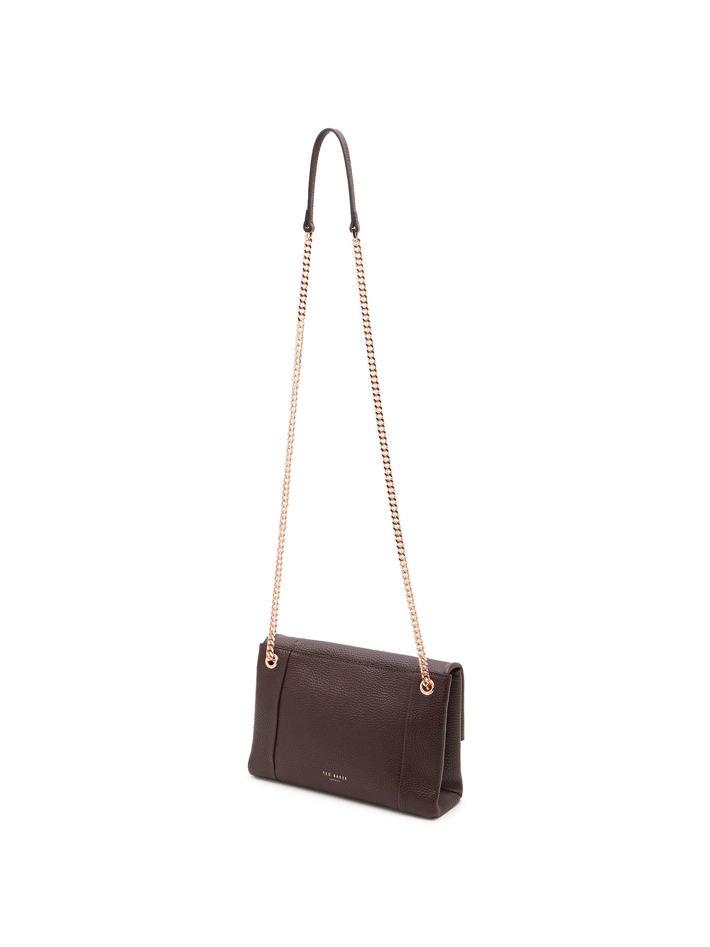9441d6409 Ted Baker Parson Leather Cross Body Bag at John Lewis   Partners