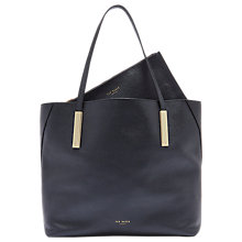 Buy Ted Baker Lelexus Leather Bar Detail Shopper Bag Online at johnlewis.com
