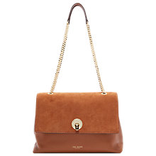 Buy Ted Baker Sophina Suede Circle Shoulder Bag Online at johnlewis.com