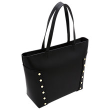 Buy Ted Baker Tamiko Stud Edge Leather Shopper Bag Online at johnlewis.com