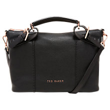 Buy Ted Baker Salbett Pop Hand Leather Small Tote Bag Online at johnlewis.com