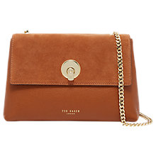 Buy Ted Baker Sorikai Suede Circle Cross Body Bag Online at johnlewis.com