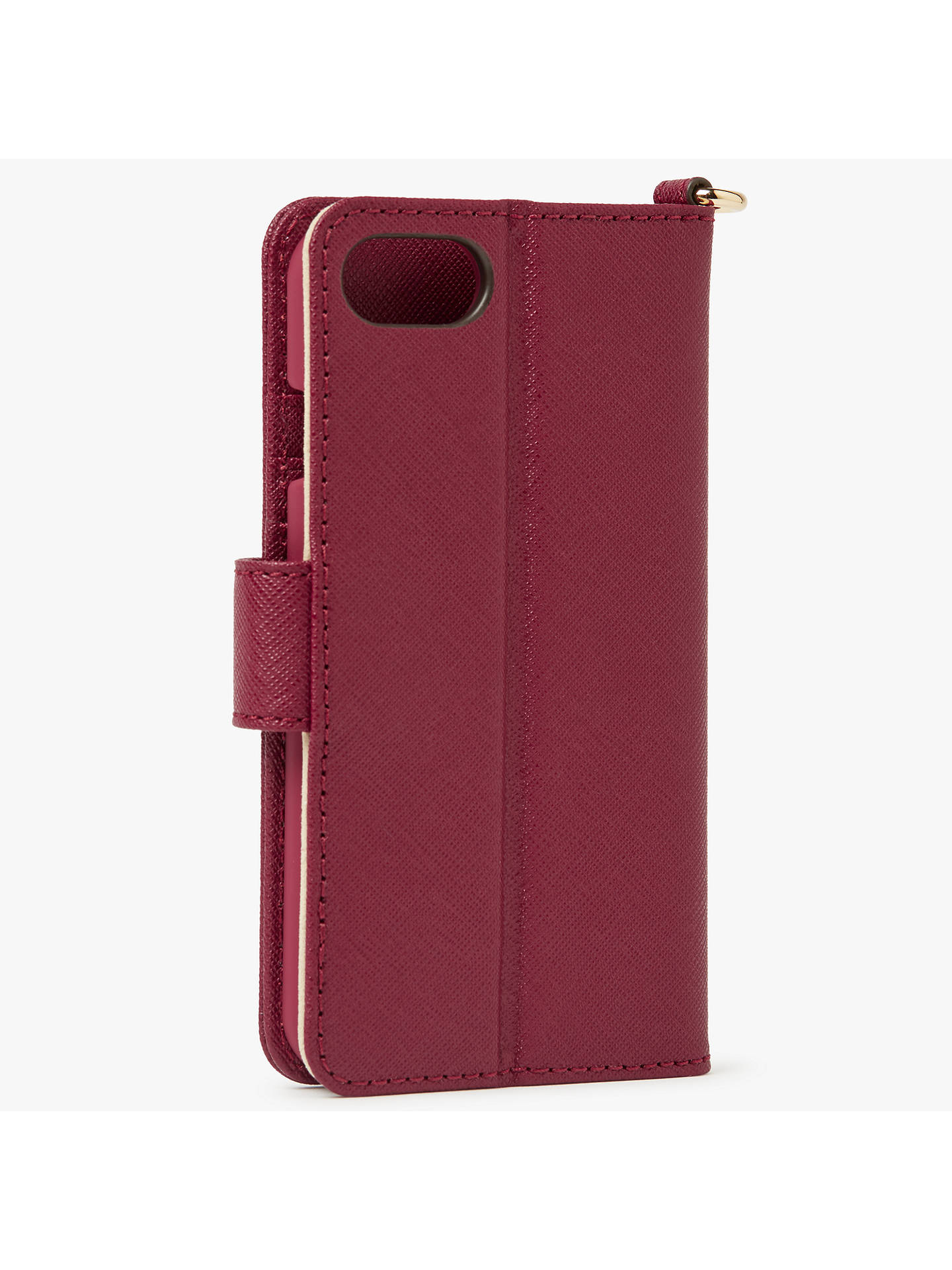 01626a7b0645 ... Buy MICHAEL Michael Kors Electronic Folio iPhone 6 Case, Mulberry  Online at johnlewis.com