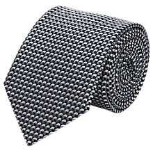 Buy Reiss Nordman Graphic Silk Tie, Airforce Blue Online at johnlewis.com