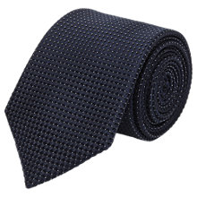 Buy Reiss Illion Mini Polka Dot Silk Tie, Navy Online at johnlewis.com