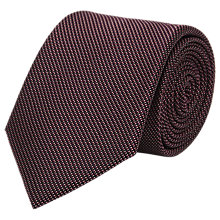 Buy Reiss Bistel Fleck Detail Silk Tie Online at johnlewis.com