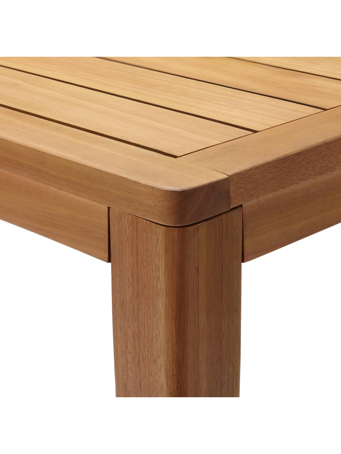 John Lewis Alta 6 Seat Garden Dining Table / Chairs Set, FSC ...