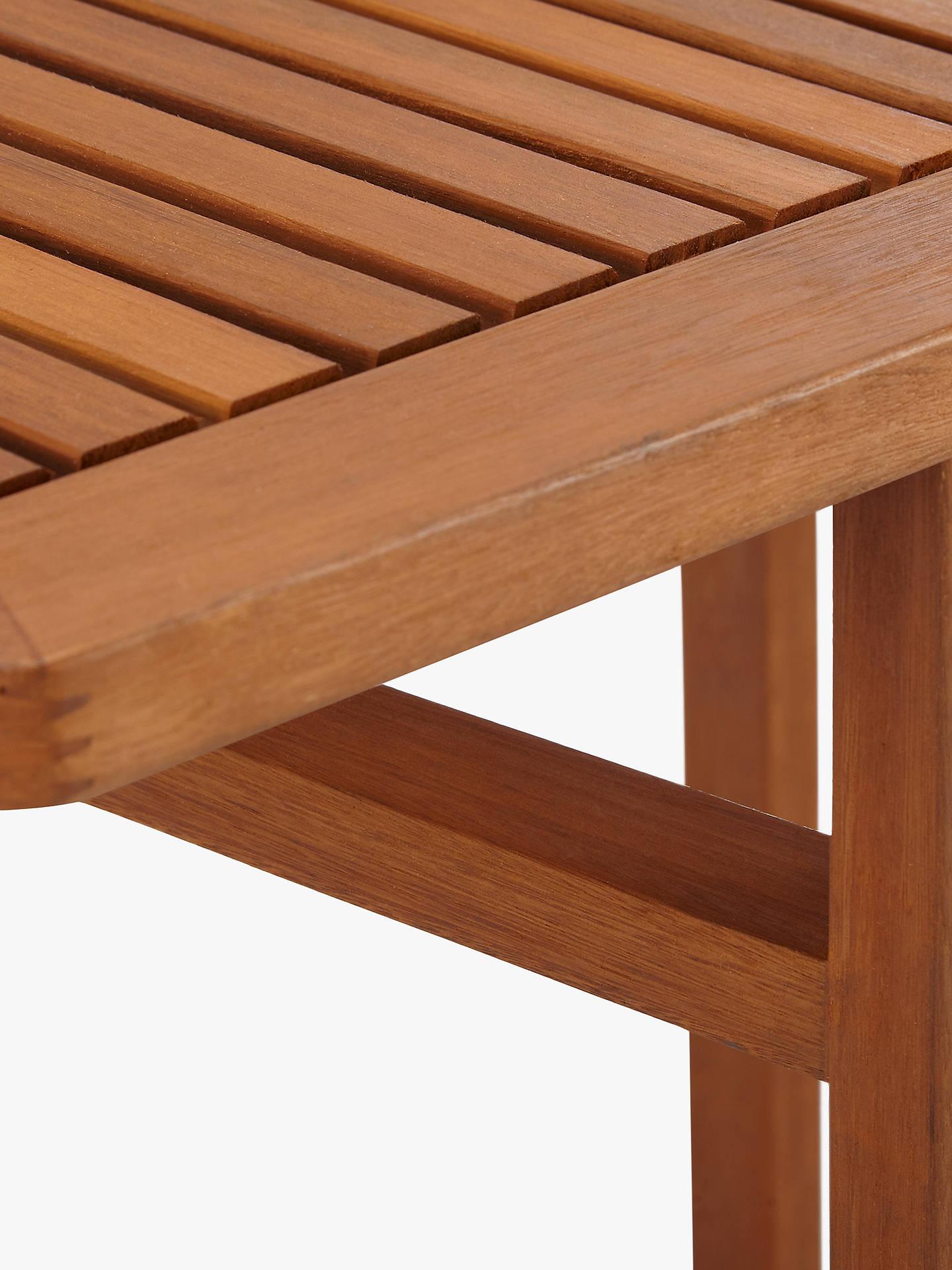 John Lewis Venice 4-Seater Balcony Table, FSC-certified (Eucalyptus ...