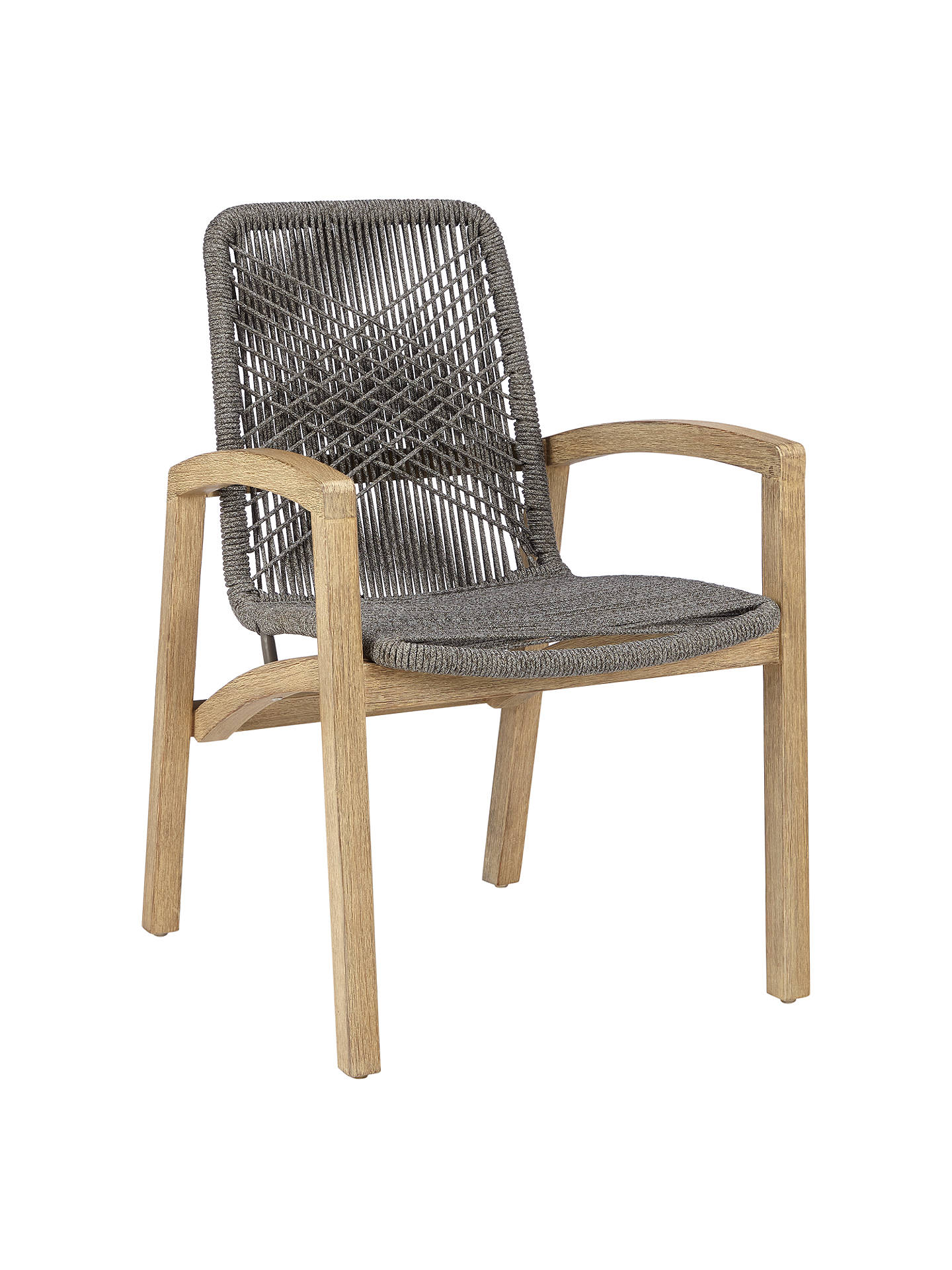Buy john lewis partners leia outdoor dining chairs fsc certified eucalyptus