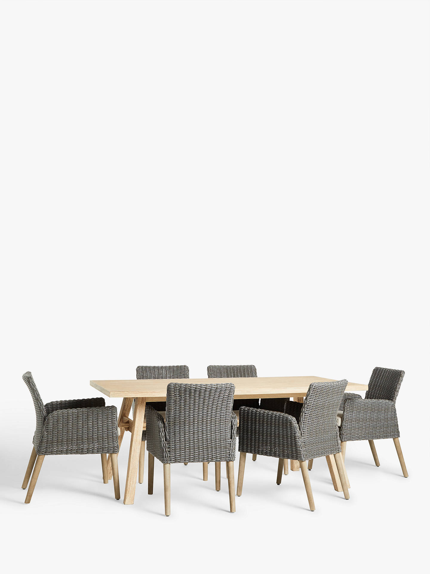 BuyJohn Lewis & Partners Eden Outdoor Dining Chairs, FSC-Certified  (Eucalyptus), ... - John Lewis & Partners Eden Outdoor Dining Chairs, FSC-Certified