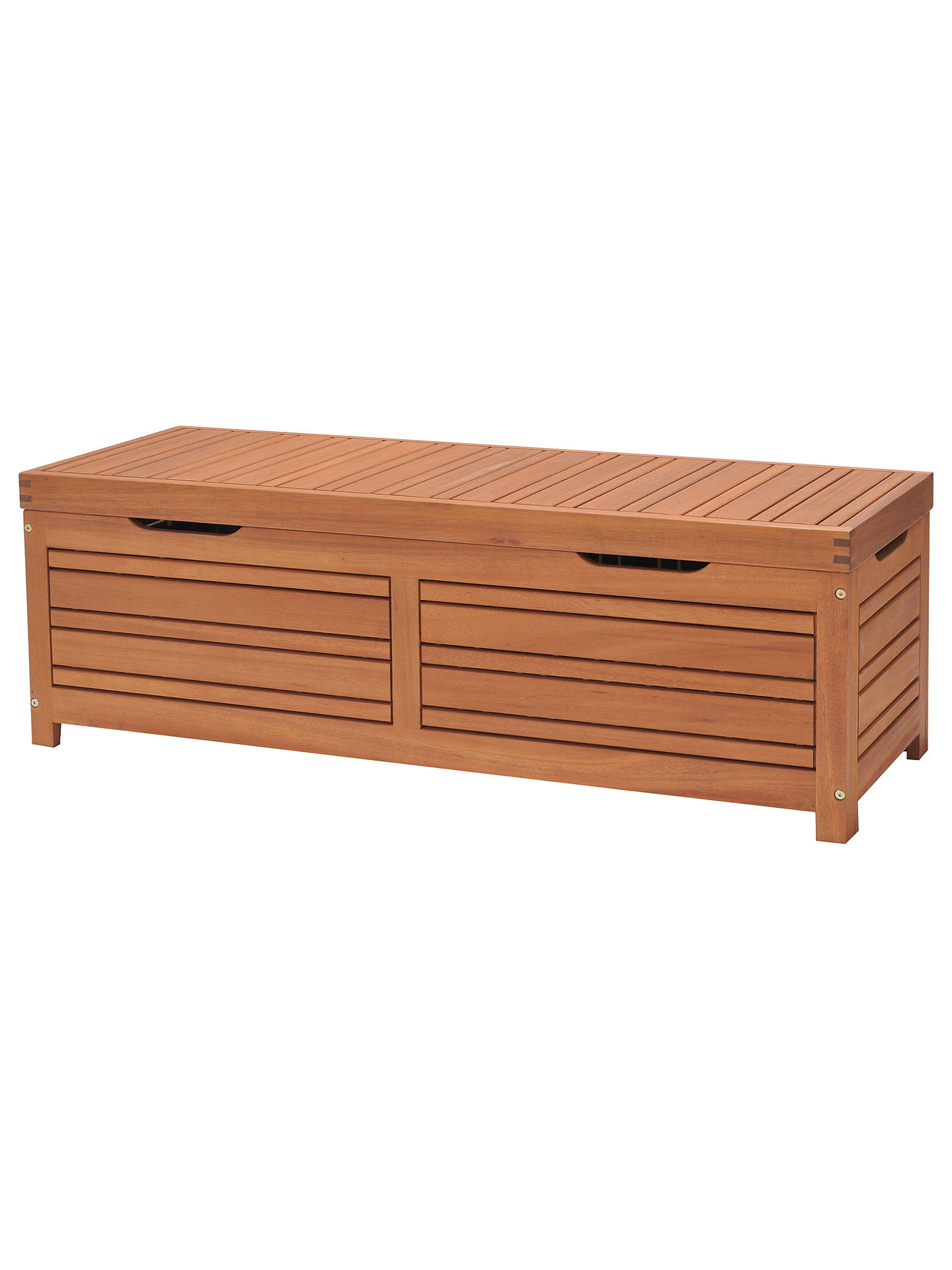 Pleasant John Lewis Partners Venice Storage Box And Bench Fsc Certified Eucalyptus Wood Natural Inzonedesignstudio Interior Chair Design Inzonedesignstudiocom