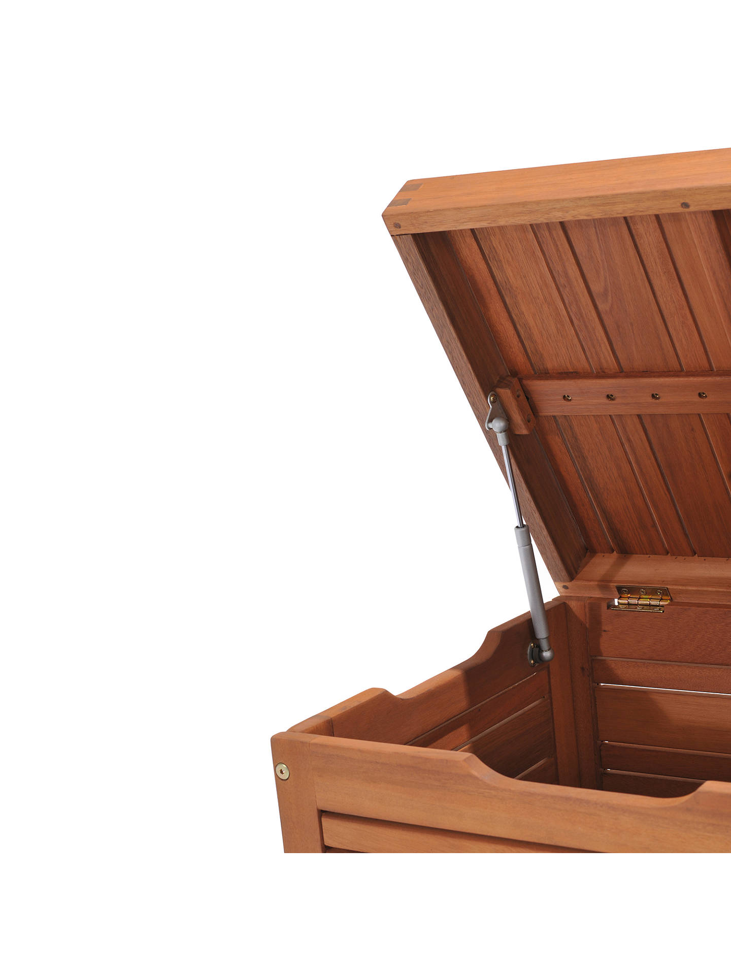 Super John Lewis Partners Venice Storage Box And Bench Fsc Certified Eucalyptus Wood Natural Inzonedesignstudio Interior Chair Design Inzonedesignstudiocom