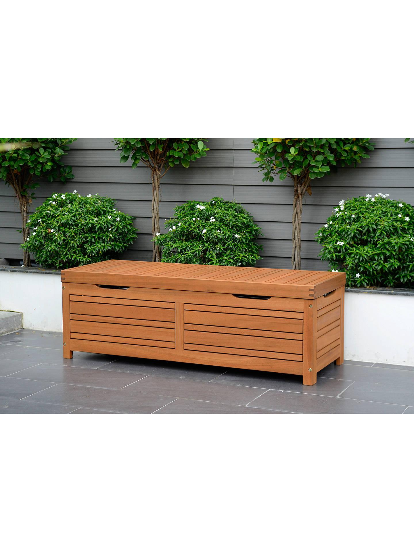 Prime John Lewis Partners Venice Storage Box And Bench Fsc Certified Eucalyptus Wood Natural Inzonedesignstudio Interior Chair Design Inzonedesignstudiocom