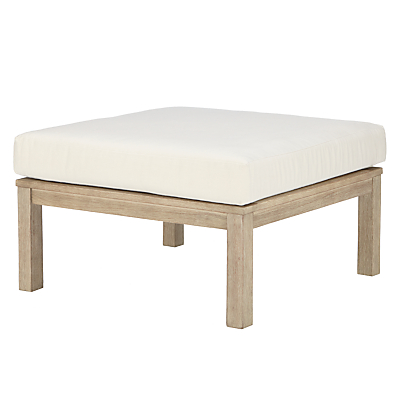 John Lewis St Ives Coffee Table / Footstool, FSC-Certified (Eucalyptus Wood), Natural