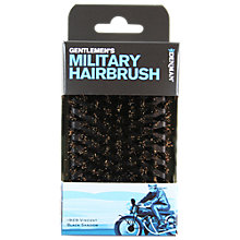 Buy Denman Gentleman's Club Preium Military Natural Bristle Hairbrush Online at johnlewis.com