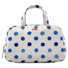 Buy Cath Kidston Inky Spot Grab Handle Wash Bag Online at johnlewis.com