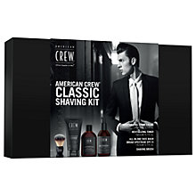 Buy American Crew Classic Shaving Kit Online at johnlewis.com